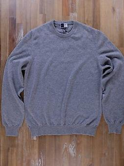 FEDELI 100% cashmere gray slim-fit sweater authentic - Size