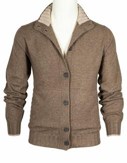 Fioroni Cardigan IN Brown Beige With from Cashmere RegEUR990