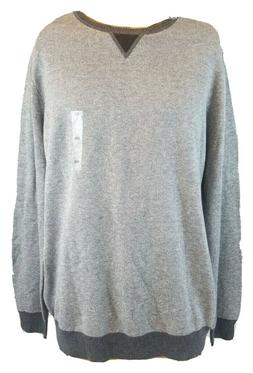 Tasso Elba Men's Pullover Size 2X or XL Soft Charcoal Gray S