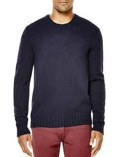 Bloomingdales Mens 2-Ply Cashmere Diamond Pattern Thick Swea