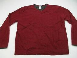 Patagonia Mens Cashmere Sweater Long Sleeve Large Red