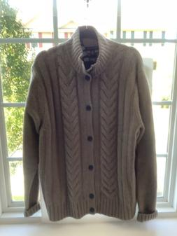 TOMMY HILFIGER MENS LUXURY CASHMERE CARDIGAN SWEATER NEW WIT