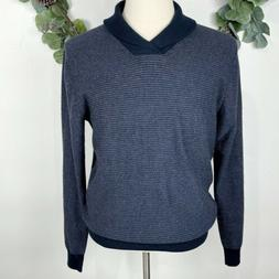Impermeable Platinum Mens Sweater M Merino Wool Cashmere Fre