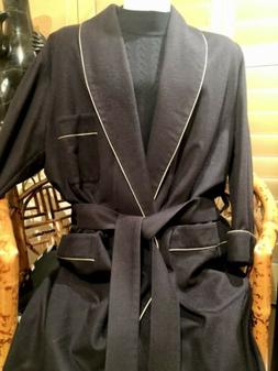 Men's Wool/cashmere Robe Pre Owned Size L Great Condition