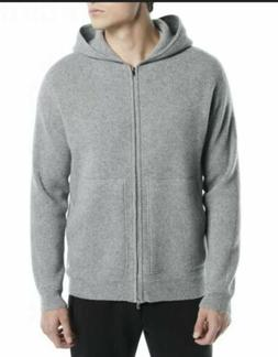 NWT Rare Sold Out Theory Alcos Heather Gray Cashmere Hoodie