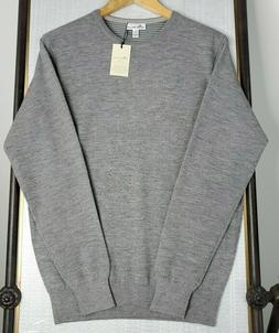 NWT PETER MILLAR Small Cashmere Crown Comfort Crew Neck Line