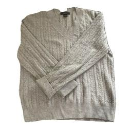 THE MEN'S STORE Bloomingdale's 100% Cashmere Light Grey Ca