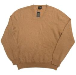 Club Room V-Neck Long Sleeve Cashmere Pullover Sweater Mens