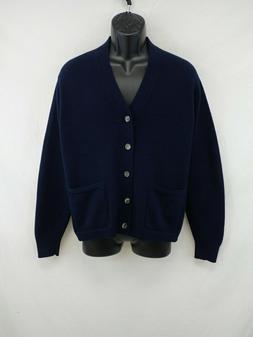 VTG Brooks Brothers 100% Pure Cashmere Cardigan Made in Engl